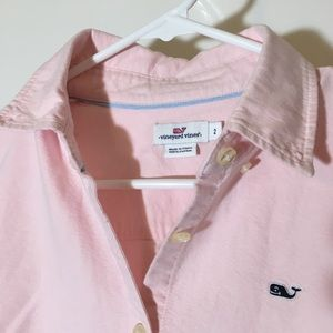 EUC Vineyard Vines Pink Oxford ButtonUp LongSleeve